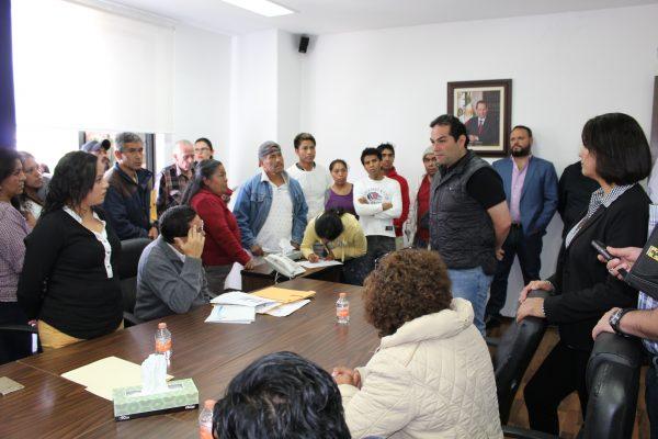 Personal del Sistema Aguas de Huixquilucan continúa  trabajando en las zonas afectadas