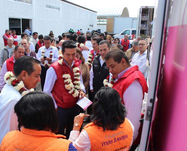 En el municipio de Ixtlahuaca convergen esfuerzos federales, estatales y municipales