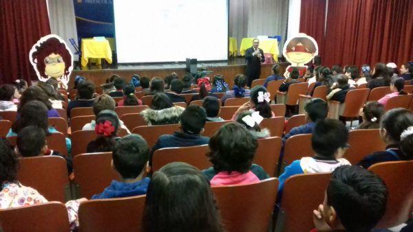 Alumnos de quinto y sexto grado conocieron y participaron en el Programa.