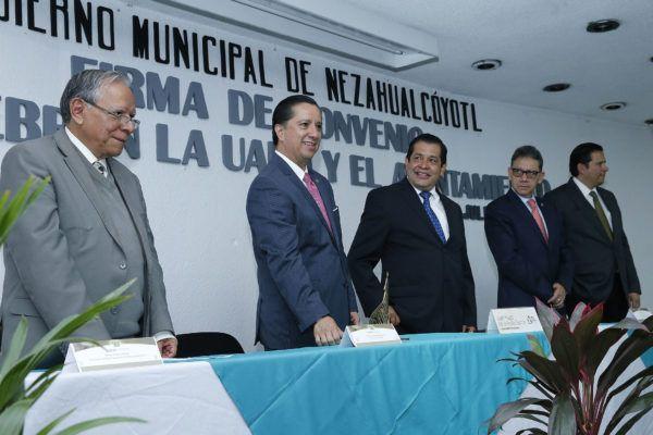 El instrumento legal permitirá que miembros de las agrupaciones de seguridad del municipio puedan realizar estudios en la institución educativa.