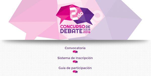 Los interesados pueden consultar la convocatoria en la página electrónica (www.ieeem.org.mx) en donde también se ubica el sistema de inscripción y la guía de participación.