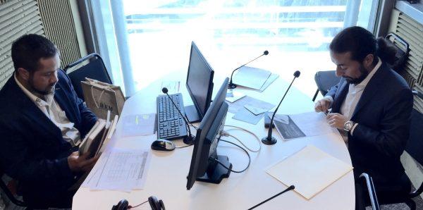 """En el programa de radio """"Detrás de tu voto hay buenas noticias"""", transmitido en la estación de radio de la UAEM, UniRadio 99.7 FM, Igor Vivero Ávila, Titular del Centro de Formación y Documentación Electoral dio pormenores sobre el XIX Certamen Estatal de Investigación y Ensayo Político."""