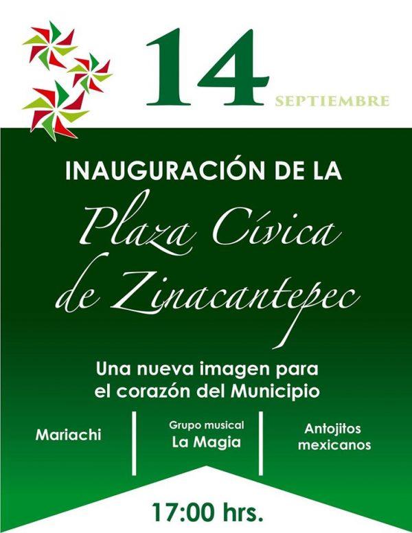 Con diversas actividades celebraran las fiestas patrias los días 14, 15 y 16 de septiembre.