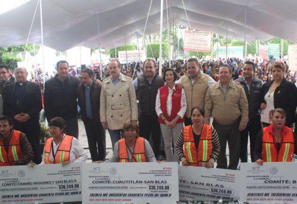 Inauguraron obras en Cuautitlán México