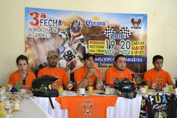 Almoloya de Alquisiras albergará competencia Hard/Enduro 19 y 20 de noviembre
