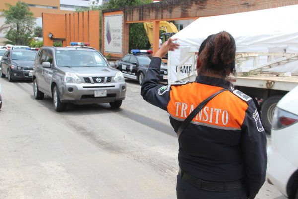 Los oficiales de tránsito se sumarán a labores de seguridad